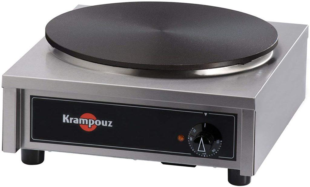 Crêpière Krampouz électrique gamme standard carré ø 40 cm CECIL40AO