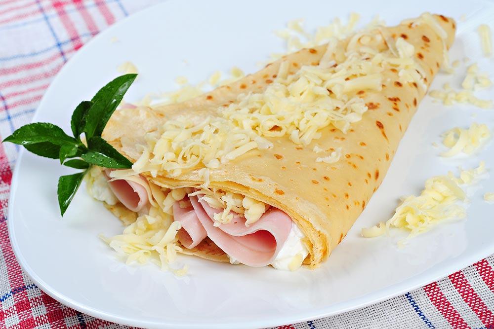 Crêpe au fromage