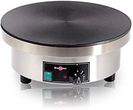 Crêpière Krampouz électrique gamme confort ronde ø 40 cm CEBIA4AQ