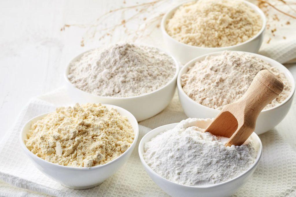 Différentes farines pour faire des crêpes