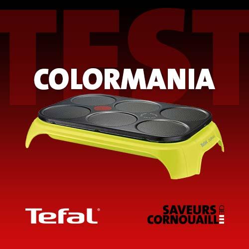 Test complet de la crêpière Tefal Colormania